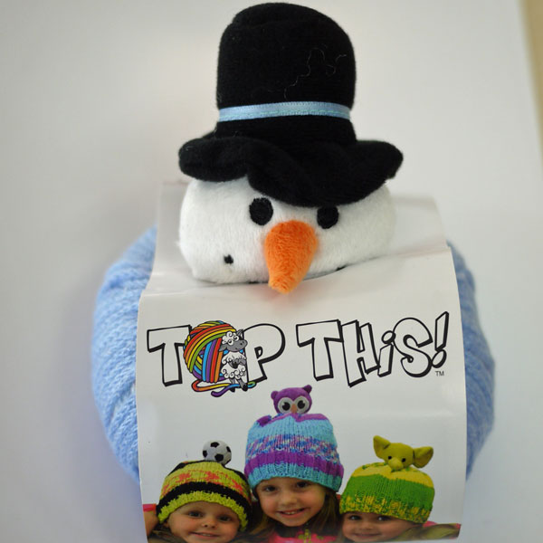 DMC TOP THIS! SNOWMAN スノーマン(SM)付き 帽子用毛糸 【KN】