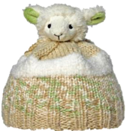 DMC TOP THIS! 羊(la)のぬいぐるみ付き 帽子用毛糸 【KN】