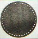 バッグ底板 丸 直径16cm ブラック H204-628 ハマナカ 【KY】