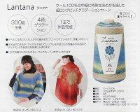 ハマナカ【新製品】ランタナ300gロングピッチ段染中細