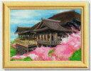ビーズ絵スターターキットM 清水寺・フルカラータイプ  ビータッチ H466-208  Hamanaka ハマナカ