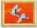 ビーズ絵スターターキットM 夫婦鶴・フルカラータイプ  ビータッチ H466-214  Hamanaka ハマナカ