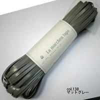 ラメルヘンテープ138マットグレー5mm幅・30mLamarchentapeMelchenart【KN】