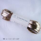 ラメルヘンテープ185レーシーゴールド5mm幅・30mメルヘンアート【KN】ラメルヘンテープMarchenart