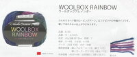 処分特価ウールボックスレインボー内藤商事【KN】4E毛糸編み物セーターベストマフラースヌード
