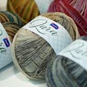 新製品毛糸ララオリムパス【KY】Olympus毛糸編み物手編み糸合太絣段染