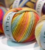 新製品毛糸ロリポップオリムパス【KY】Olympus毛糸編み物手編み糸超極太段染ロービング