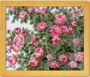 クロスステッチ刺しゅうキット オールドローズ No.7450 愛すべき花たち オノエ・メグミししゅうキットシリーズ オリム…