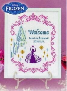 Welcome Boad ディズニー ウェルカムボード 7468 アナと雪の女王 オリムパス 刺しゅうキット