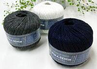 ☆新製品ピマデニムパピー春夏毛糸毛糸編み物サマーヤーン