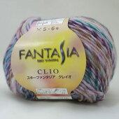 新製品スキーファンタジア毛糸クレイオ【KY】毛糸編み物セーターベストマフラー並太段染