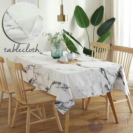 大理石柄 テーブル クロス テーブルクロス 汚れ防止 カバー 高級テーブルマット デスクマット 食卓カバー マルチカバー テーブルクロス 正方形 長方形 無地 机 デスク カバー より上質 お手入れ簡単 テーブルマット サイズ別