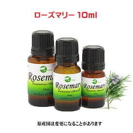 エッセンシャルオイル 精油 天然 アロマオイル ローズマリー 10ml