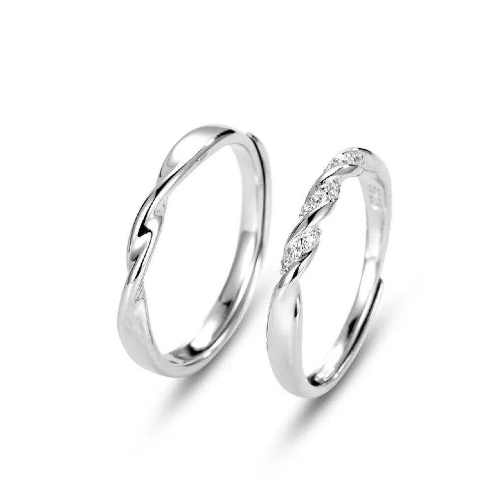 ペアリング シルバー 2点セット 純銀925 男性 女性 マリッジリング 結婚指輪 ペア 記念日 プレゼント 送料無料