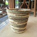 お部屋の観葉植物がスタイリッシュなインテリアグリーンに早変わり♪バスケット鉢カバー(迷彩)7号鉢サイズ【楽ギフ_…