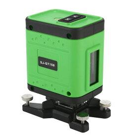 KAPEO 3D LASER 5ライン グリーンレーザー墨出し器 SJ-G7158 水平 ライン360°縦ライン130° 4方向大矩照射 自動補正機能 高輝度 高精度 レーザー墨出し器/墨出し/墨だし器/墨出し機/墨出機/墨だし機/レーザーレベル/レーザー水平器/レーザー測定器 メーカー1年保証