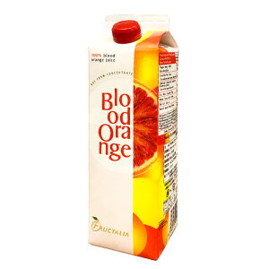 チンツィアブラッドオレンジジュース1本[冷凍・1000g]/ストレート果汁100% フレッシュ イタリア シチリア 保存料、添加物不使用