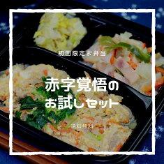 【初回限定送料無料】からだデリ味の富士山お試し3食セット(B-1,13,15)冷凍弁当健康弁当宅配おかず惣菜弁当おべんとう