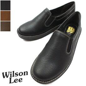 WILSON LEE SPORTS-ウィルソンリースポーツ- スリッポンデザインのカジュアルシューズ。 3E幅広設計 ローカット レディース スニーカー プレゼント ギフト 敬老の日