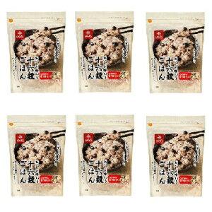 十六穀ごはん 500g × 6パック セット 4902571477358 はくばく ◆