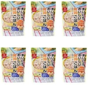 まいにちおいしい雑穀ごはん 500g × 6パック セット 送料込 4902571287902 はくばく ◆