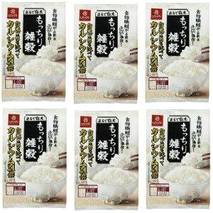 まるで白米もっちり雑穀 150g (1袋25g x 6袋) x 6パック セット 送料込 4902571161165 はくばく ◆