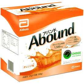 アバンド オレンジ味 1箱(24gx14袋) 4987439197579 アボット社 ◆