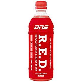 DNS R.E.D. 500ml×24本セット ブラッドオレンジ風味 4573290272557 ◆