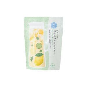 水出しできる。おいしいハーブティー ミントとレモンとライム 20個入 024782010 生活の木 ◆
