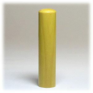 印鑑 実印向け 薩摩本柘(ほんつげ) 自然素材印鑑 13.5mm×60mm 本牛革専用ケース付