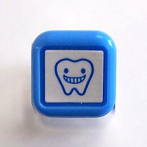 こどものかお スケジュール浸透印 歯/ブルー(SD0556-522)