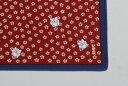 [お弁当箱包み]綿の風呂敷 江戸千代紙の老舗 いせ辰のふろしき うさぎ 50cm 風呂敷専門店・唐草屋