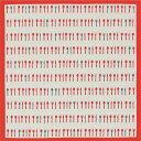 [お弁当箱包み]綿の風呂敷(ふろしき) 日本のかたち カトラリー(赤) 50cm 風呂敷専門店・唐草屋