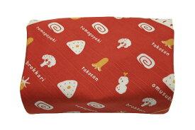 [お弁当箱包み]綿のふろしき 日本のかたち お弁当(オレンジ)50cm 風呂敷専門店・唐草屋