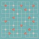 [お弁当箱包み]綿の風呂敷(ふろしき) コトイマ ツメクサ(水色)50cm 風呂敷専門店・唐草屋