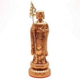 置物 仏像 地蔵菩薩 美しく輝く金色