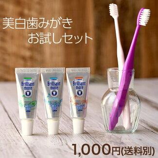 お試し歯ブラシと歯磨きセット