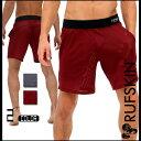 送料無料!RufSkin (ラフスキン) BONES ドライメッシュ ショートパンツ メンズ スポーツウェア ジムウェア 吸湿…