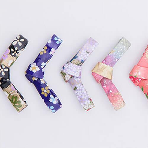 箸置き 結び5個セット 福袋 日本製 箸置き 蝶 和紙 カトラリー ラッピング無料 御祝い誕生日 セット おしゃれ かわいい おしゃれ