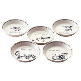 D-MF38 カレー皿セット 5P ディズニー 日本製 お皿 食器 電子レンジ対応 食洗機対応 箱入りおしゃれ プレゼント お祝い 贈り物 ギフト 女性 レディース ディズニー