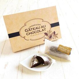 北海道ガトーショコラ(6個入り) チョコレート ギフト カカオ 洋菓子 お菓子 スイーツ おやつ 北海道 小分け プチ 個包装