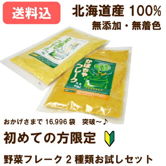 17,596 Bag topped ♪ try vegetable flakes 2 type set * first time vegetable flakes who purchase limited!