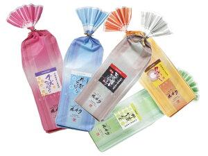 北海道 かりんとう巾着(青、茶、桃、緑、橙)食べやすいサイスのかりんとうを華やかな袋にお入れしました。スイーツ・お菓子 和菓子 ギフト お供え 御供え お盆 法事 引き出物 帰省土