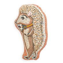 クッションアニマル型【アニマルコレクション】刺繍クッション選べる3型(ハリネズミ/リス/ベア)中材入りアニマルクッション動物雑貨おしゃれ