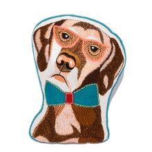 クッション犬型【ドギーコレクション】レトリバー刺繍クッション中材入りアニマルクッション犬グッズ犬雑貨おしゃれ