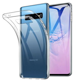 Galaxy S10 ケース TPU 透明 クリア 保護 シンプル カバー 衝撃 ソフトケース 吸収 ギャラクシーエス10 galaxyS10 スマホケース ケータイケース ケータイカバー スマホカバー かわいい 携帯カバー 携帯ケース SCV41 SC-03L