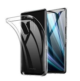 Xperia 1 ケース TPU 透明 保護 シンプル カバー 衝撃 ソフトケース 吸収 エクスペリア1 Xperia1 スマホケース ケータイケース ケータイカバー スマホカバー かわいい SO03L 携帯カバー 携帯ケース SOV40 SO-03L