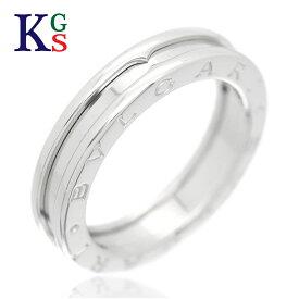 【サステナブル&ギフト品質】【名入れ】【5号〜14号】ブルガリ/BVLGARI B.zero1 ビーゼロワン リング / 指輪 750 K18WG ホワイトゴールド レディース メンズ 1015