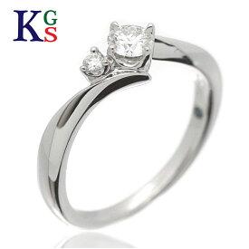 【サステナブル&ギフト品質】【名入れ】【中石0.215ct】【4号-18号】ヨンドシー 4°C エンゲージリング/婚約指輪 プラチナリング/Pt950 プラチナ/ダイヤモンド 1015