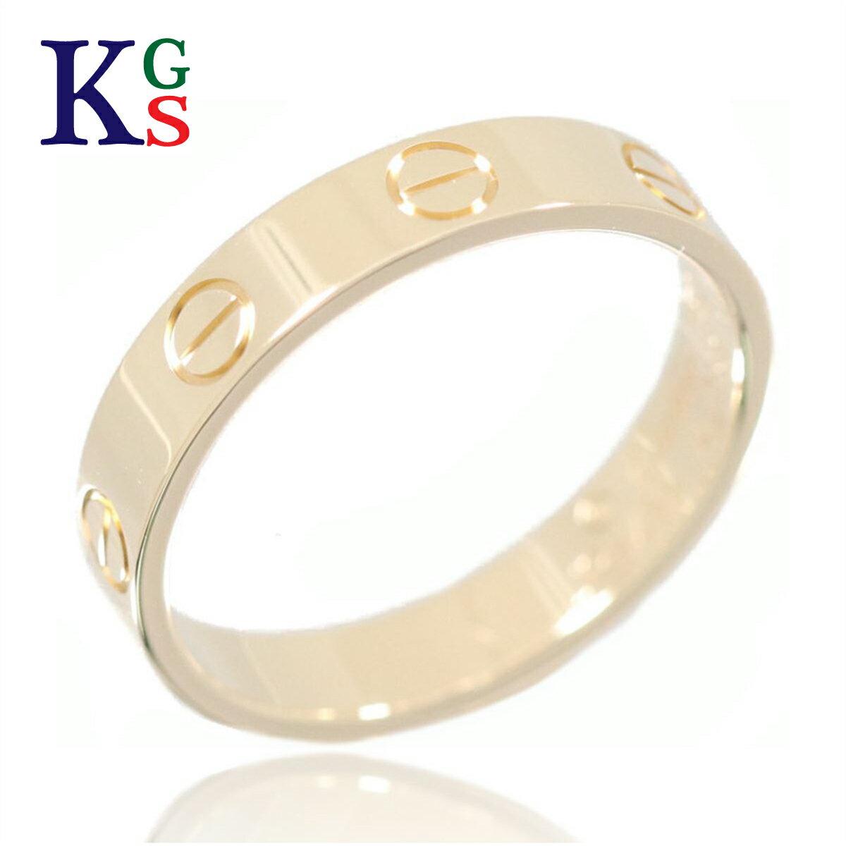【新古品】カルティエ/Cartier / ジュエリー リング 指輪 レディース メンズ / ミニラブリング K18YG イエローゴールド / B4085000